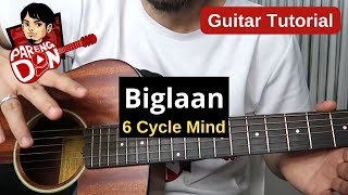 BIGLAAN chords guitar tutorial (6 Cycle Mind)