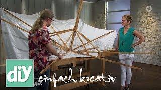 Holz-Sonnenschirm reparieren | DIY einfach kreativ