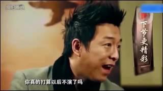 黃渤採訪周星馳,卻反被星爺採訪,兩位喜劇大咖的對話堪稱經典!