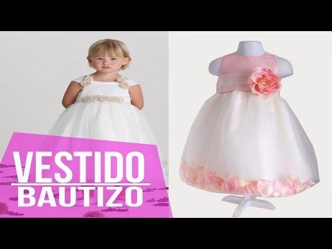 Vestidos Para Bautizo y Ceremonias - Niña - Moda Diseños