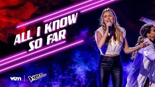 Nanou - 'All I Know So Far' | Finale | The Voice van Vlaanderen | VTM