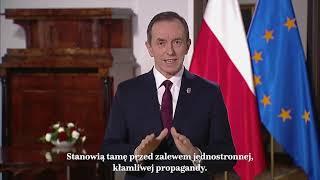 Orędzie Marszałka Senatu prof. Tomasza Grodzkiego – 11 lutego 2021 r.