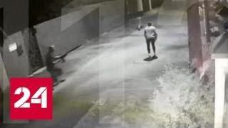 Мужчина на глазах девушки застрелил противника в подмосковном поселке - Россия 24