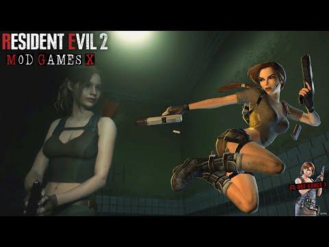 Resident Evil 2 RE MOD - Tomb Raider