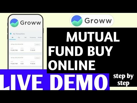 , title : 'How to invest in Mutual fund Online !! Mutual fund investment online groww - LIVE DEMO