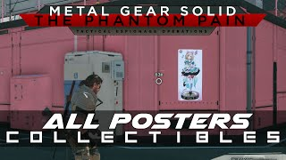 MGSV: The Phantom Pain All Posters Collectibles - Soviet, Glamor, Idol, PF
