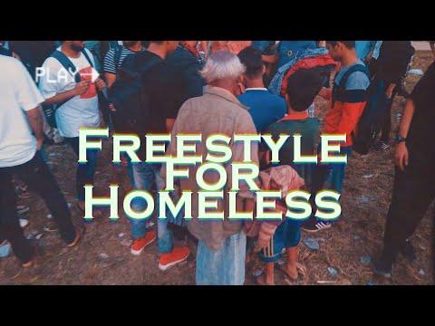 Freestyle For Homeless - Bangla Rap Battle | 2019