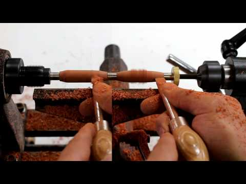 Woodturning for Beginners: How to Turn a Pen by Glass Impressions