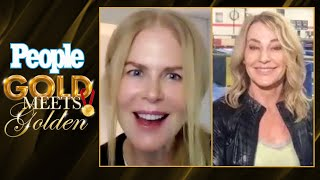 Nicole Kidman Meets Nadia Comaneci | Gold Meets Golden | PEOPLE