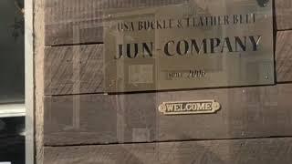 JUN-COMPANY南浦和工房にてサドルレザーを買うた