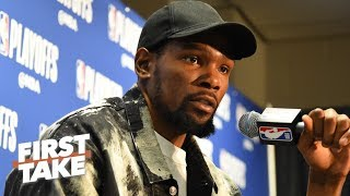 'That's garbage!' – Stephen A. on the media's treatment of Kevin Durant   First Take