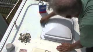 Wonderful How To Install And Seal An RV Roof Vent Using Dicor Lap Sealants