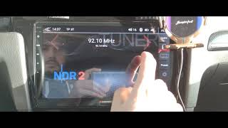 ZENEC Z-E 1010 - VW Golf VII - FM/DAB-Test