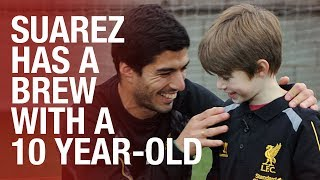 Luis Suarez as you've never seen him before