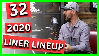 2020 ThirtyTwo Snowboard Boot Liner Overview - 32
