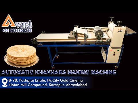 Khakhra Making Machine