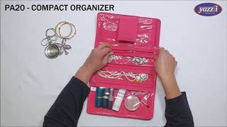 PA20 – Compact Organizer | Yazzii Travel Bags