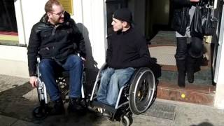 preview picture of video 'Als Rollstuhlfahrer in Potsdam'