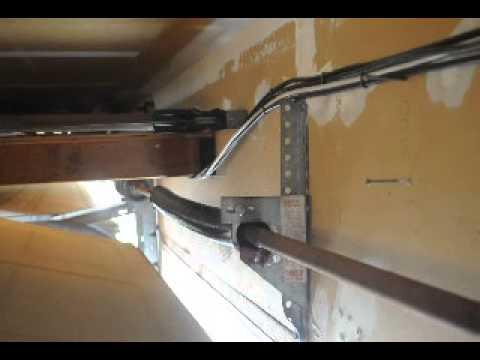 Bam Garage Door Over The Door Torsion Spring Snapped How