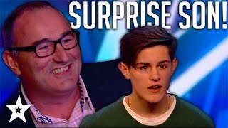 Dad SHOCKS His Son When He UNEXPECTEDLY Turns Up For His Audition   Got Talent Global