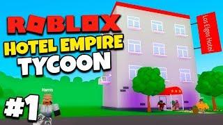 ELGE HOTELLET! #1 - Dansk Roblox: Hotel Empire Tycoon