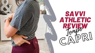 Savvi Athletic Clothing Review - Tempo Capris