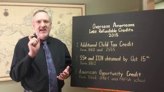 2015 Tax Changes For Overseas Americans