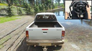 TOYOTA HILUX Truck - Forza Horizon 4   Thrustmaster T300RS gameplay