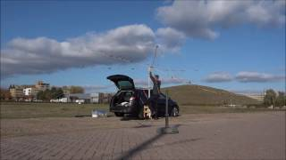 Setting Up The FoldingAntennas Portable Hexbeam (PH0NO)