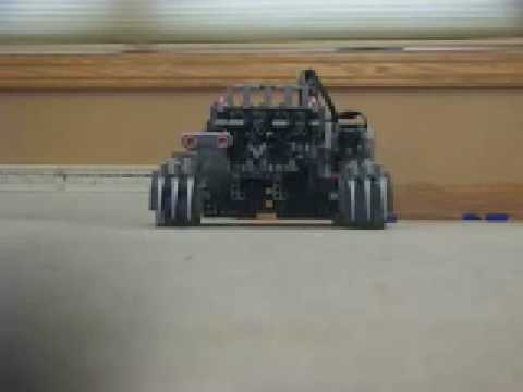 LEGO Mindstorm Ogre Autonomously Detects, Targets, and Destroys Other LEGO Creations