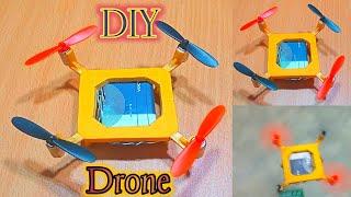 How To Make A Mini Drone | How To Make A Mini Quadcopter | How To Make Drone | Homemade Drone. RKB.