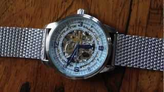 Akribos AK446SS Skeleton Watch