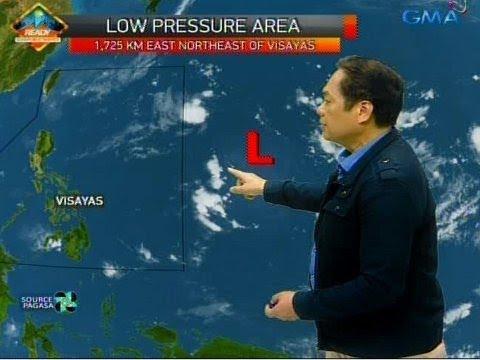 [GMA]  UB: Isang LPA, namataan sa labas ng PAR
