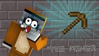 Minecraft : The Miner ที่ขุดหิน Pickaxe วิเศษขุดหินได้โดยไม่ต้องออกแรง
