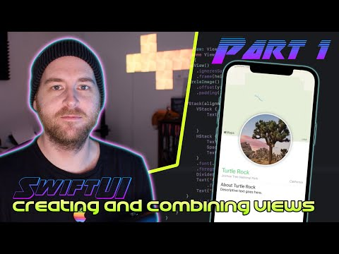 SwiftUI Tutorials by Apple - Part 1
