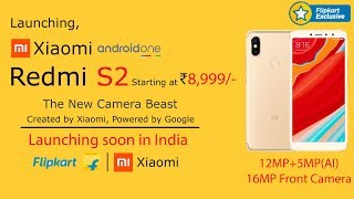 Xiaomi Redmi S2 - The New Camera Beast - Price & Release Date in India - Specifications!!