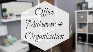 IKEA Office Makeover & Organization