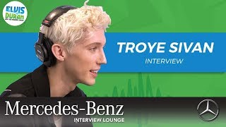 Troye Sivan on 'Bloom' and His Inspirations | Elvis Duran Show