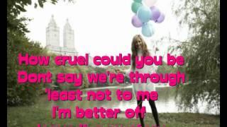 Ashley Tisdale-Tell Me Lies + lyrics