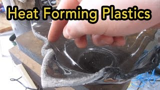 Heat forming plastics in the toaster oven | DIY Centrifuge from junk - part 2.5