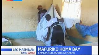 Mafuriko Homa Bay: Familia 400 zapoteza makao, waathiriwa watafuta hifadhi shuleni