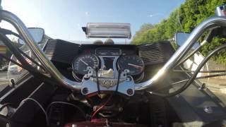 Honda GL1200 High Performance 8k (+) RPM Goldwing,  Vid 1  ;-)