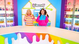 NEW SLIMEATORY!!! WHO CAN MAKE THE BEST BACKGROUND SLIMES! Slimeatory 645