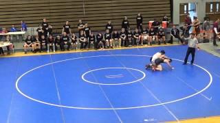 2015 Tecumseh Wrestling @ Gibraltar Carlson vs Edsel Ford: Wyatt