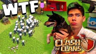 ¡Mi PERRO escoge las TROPAS en Clash of Clans! - ANTRAX ☣