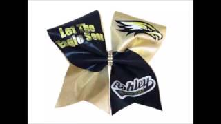 How To Make Cheer Bows With A Template