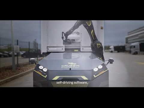 Автономный тягач, какого еще не было. Посмотрите, что он может и как он выглядит в действии