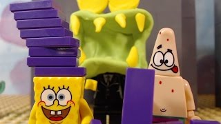 Lego Spongebob Chocolate With Nuts