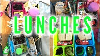 Kid's Lunch Ideas - Week 3 | Sarah Rae Vlogas |