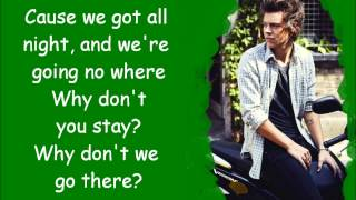 One Direction - why don't we go there (pictures + lyrics)